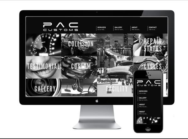 Mobile & Desktop Website