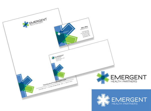 Emergent Health Care Branding