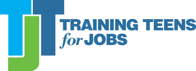 training teens for jobs logo