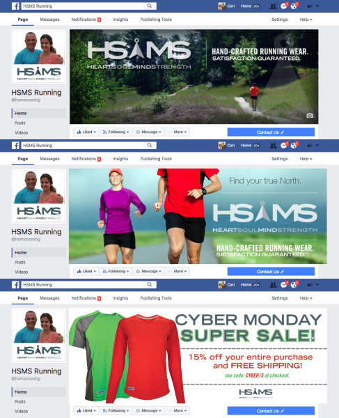 HSMS Running Social Media