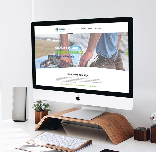 Innovative Exteriors Website