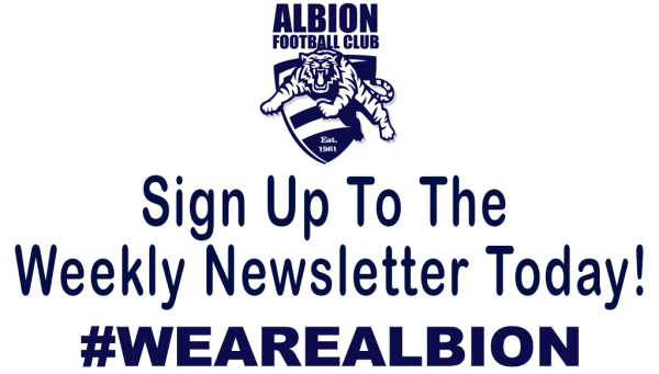 SIGN UP TO THE WEEKLY NEWSLETTER TODAY!