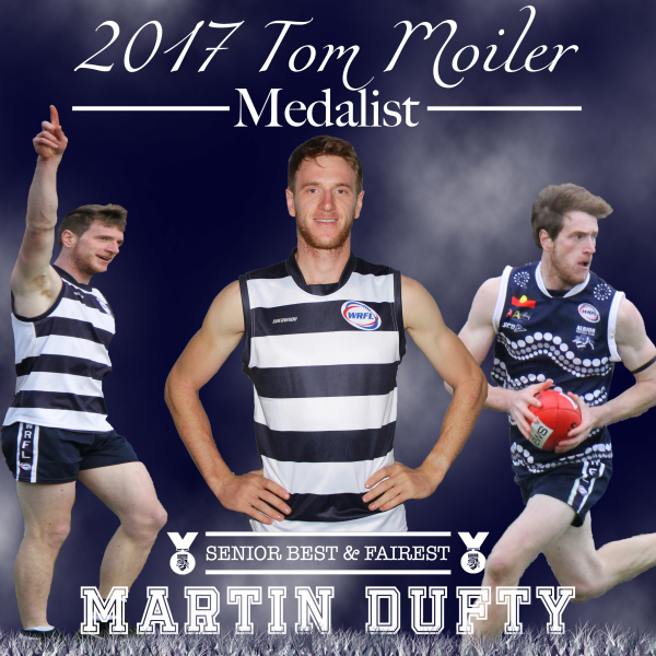 2017 Best & Fairest Winner Marty Dufty Highlights Package