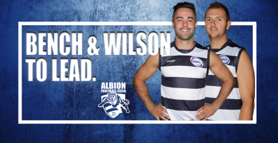 Bench & Wilson To Lead In 2018
