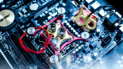 Watercooling, direct die cooling