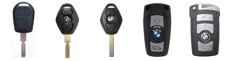 Replacement BMW Remotes and Keys
