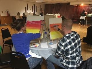 Paint night fundraiser 11/15