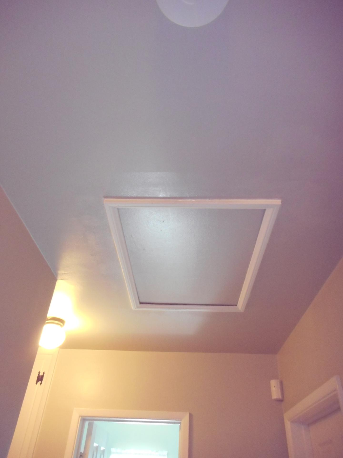 Custom attic access