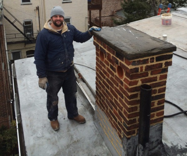 Disassembled and rebuilt brick chimney. Disassembled and rebuilt three brick Chimneys. Rebuild brickwork, Historic restoration, Re-pointing, Tuck-pointing, emergency repair. Are you looking for a contractor to do work on your historic property in the Washington DC Area? Look no further than Pointing Plus Construction Company LLC. Pointing Plus has been serving the Washington DC area for thirteen years. We specialize in Re-pointing (tuck pointing), rebuilding masonry, concrete work and structural rehabilitation of historic homes.