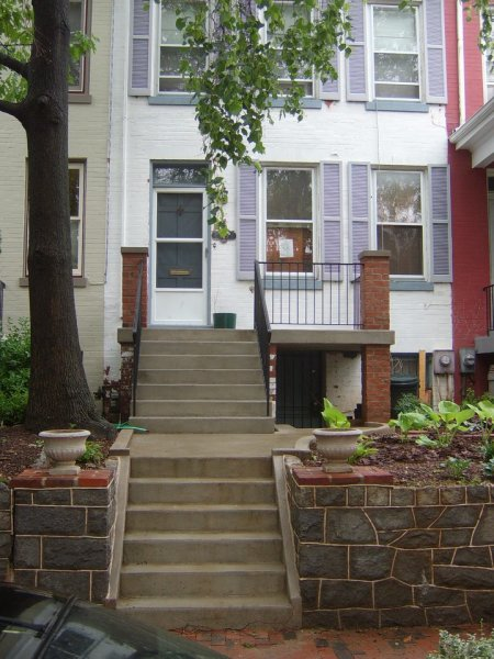 Capitol Hill Steps and porch deck (after)