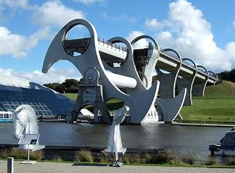 Kelvin visits the Falkirk Wheel