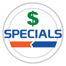 Specials Coupons Savings