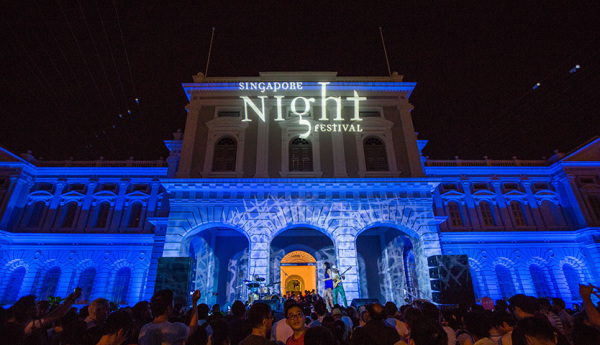 Singapore Night Festival 2014 and 2015