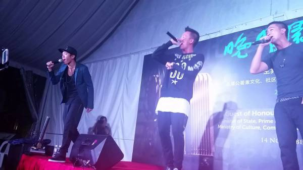 Ah Boys performs at our events