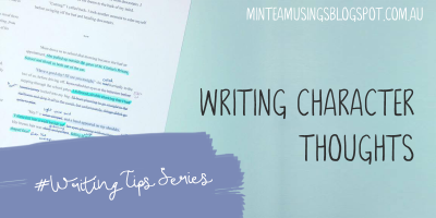 Writing Character Thoughts (Writing Tips Series #4)