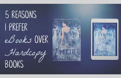 5 Reasons I Prefer eBooks Over Hardcopy Books