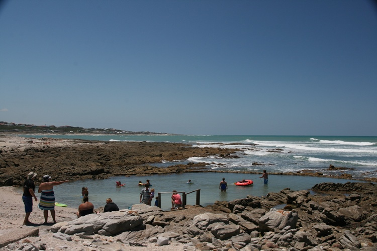 Tidal Pools and Swimming