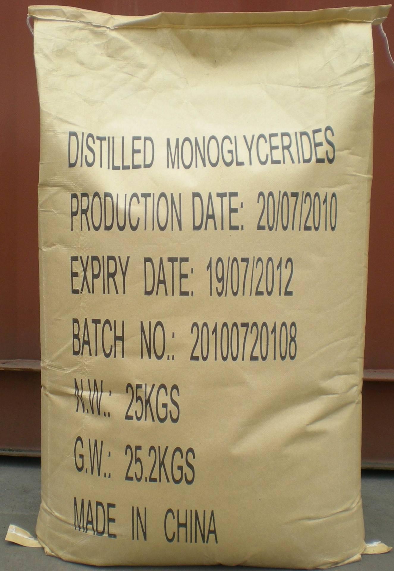 Distilled Monoglycerides Industrial Grade