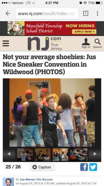 Jus Nice Sneaker Con 2015