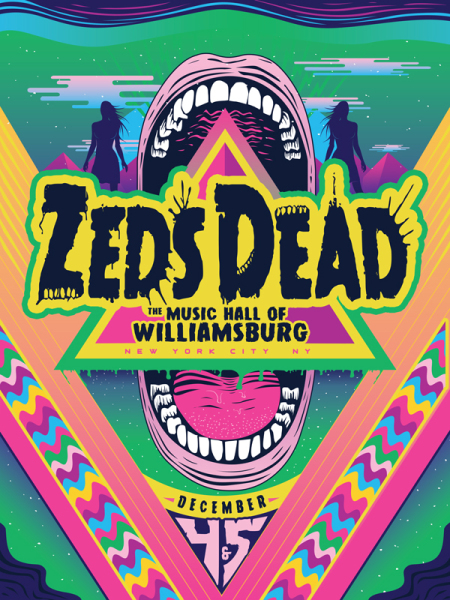 Zeds Dead - Williamsburg, NYC