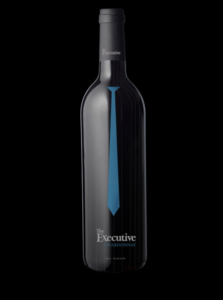 The Executive - Wine Label Concept