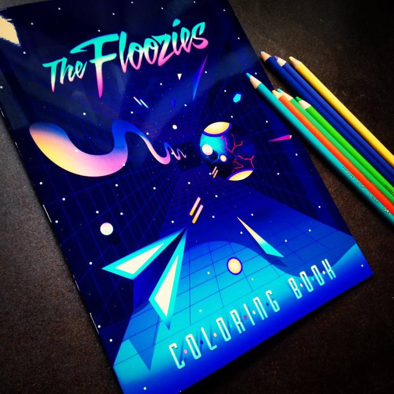 """The Floozies Coloring Books for """"Adults"""""""