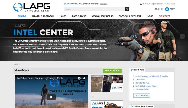 LAPG - Intel Center