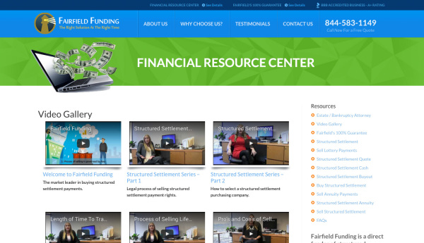 Fairfield Funding - Financial Resource Center