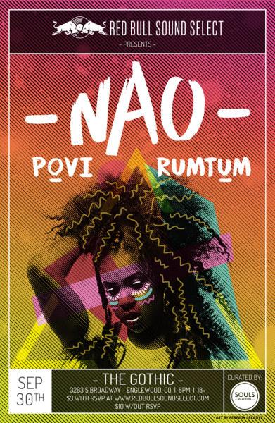NOA gig poster - Denver
