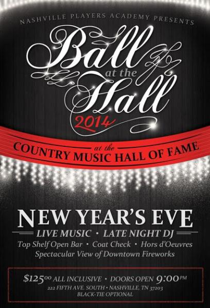 New Year's Eve Flyer Design