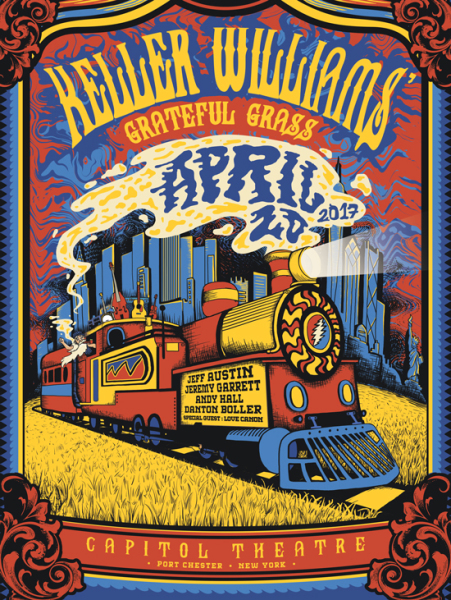 Keller Williams - 420 Capitol Theatre Poster