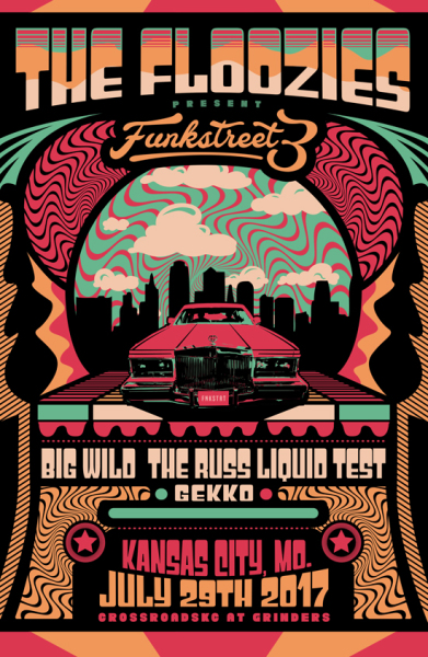 The Floozies, Big Wild, Russ Liquid - Funkstreet 3