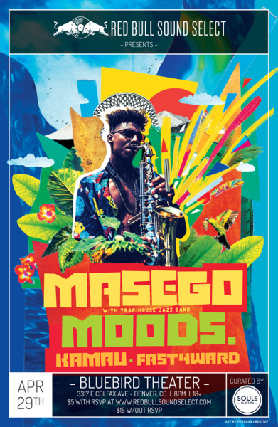 Masego - Red Bull Sound Select concert in Denver