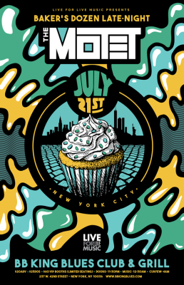 The Motet Announce a Baker's Dozen Late-Night Afterparty