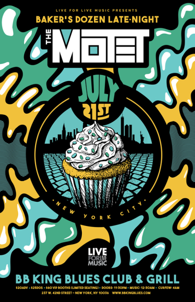 The Motet - NYC BB King