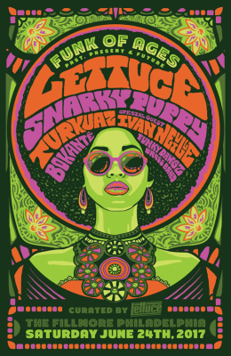 Lettuce and Snarky Puppy art poster