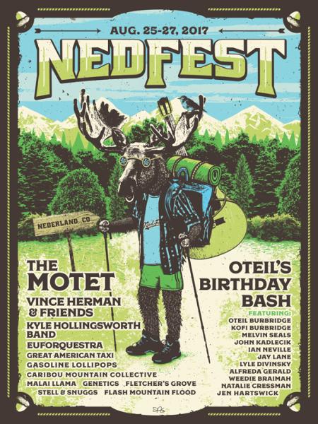 NedFest Poster Art 2017