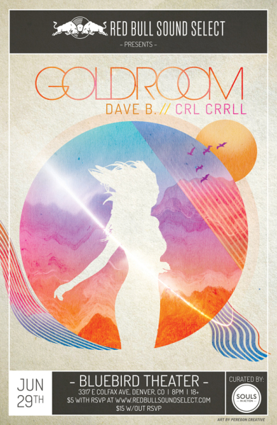 Goldroom poster