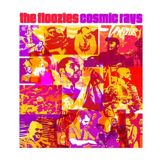 Cosmic Rays album art - The Floozies