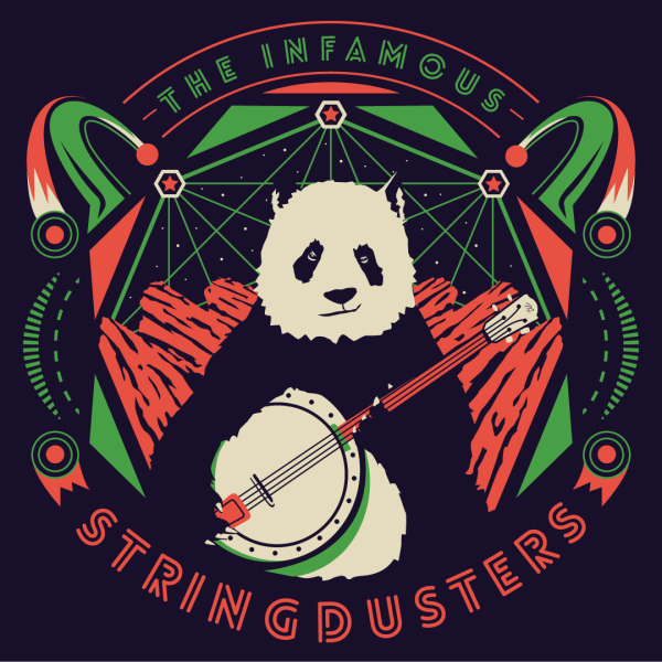Banjo Panda - Stringdusters at Red Rocks shirt