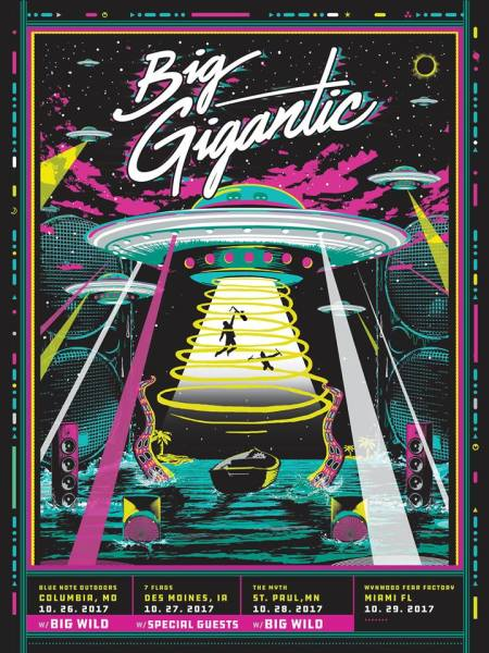 Big Gigantic poster art