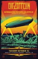 Eurforquestra Led Zeppelin poster