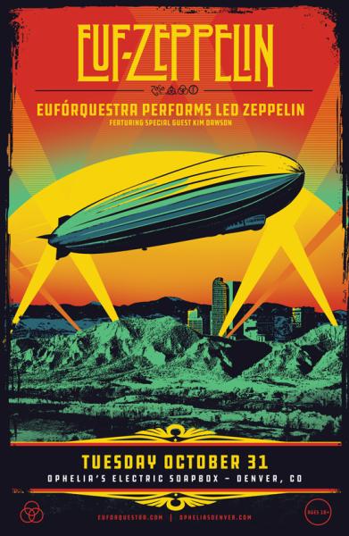 Led Zeppelin Euforquestra poster