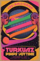 Turkuaz and Pimps of Joytime poster art design