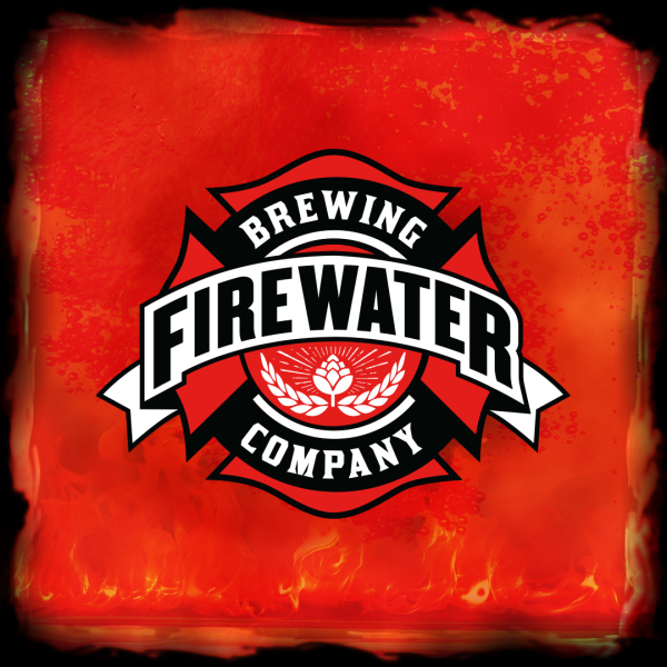 Beer logo design - Firewater Brewing Co.