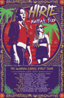 HIRIE with Nattali Rize - The Woman Comes First Tour artwork