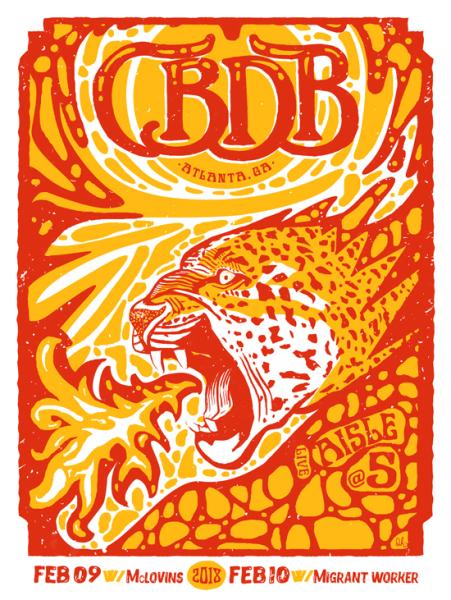 CBDB Atlanta poster design