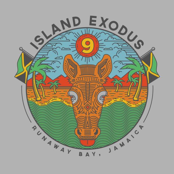 Island Exodus tshirt
