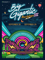 Big Gigantic Rowdytown poster