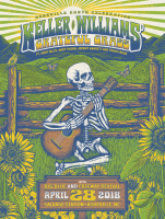 Keller Williams poster grateful grass asheville